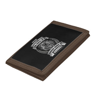Horoscope August Trifold Wallets