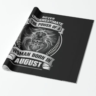 Horoscope August Wrapping Paper