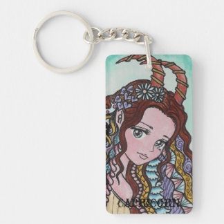 horoscope Capricorn key chain