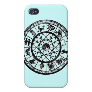Horoscope Circle Astronomy iPhone 4 Case