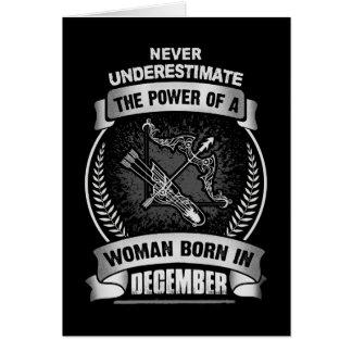 Horoscope December Card