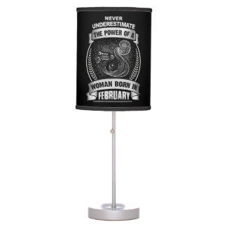 Horoscope February Table Lamp