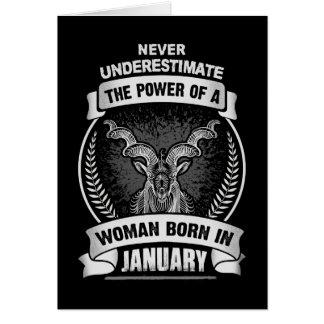 Horoscope January Card