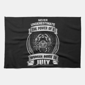 Horoscope July Kitchen Towel