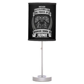 Horoscope June Table Lamp