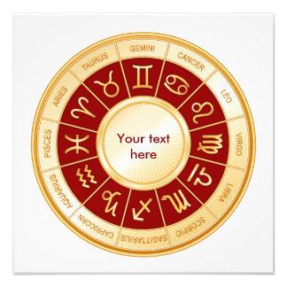 Horoscope Mandala Photograph