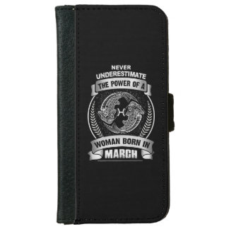 Horoscope March iPhone 6 Wallet Case