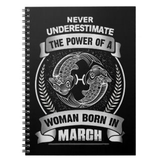 Horoscope March Notebook