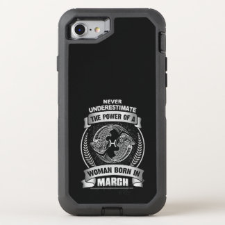 Horoscope March OtterBox Defender iPhone 8/7 Case