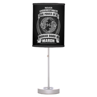 Horoscope March Table Lamp