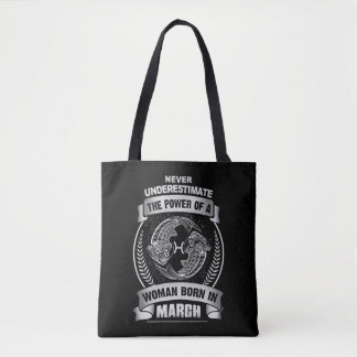 Horoscope March Tote Bag