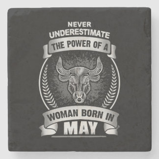 Horoscope May Stone Coaster