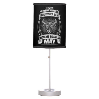 Horoscope May Table Lamp