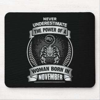 Horoscope November Mouse Pad