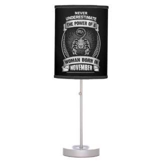 Horoscope November Table Lamp