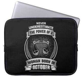 Horoscope October Laptop Sleeve