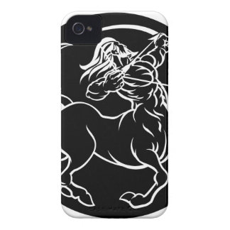 Horoscope Sagittarius Centaur Zodiac Sign iPhone 4 Covers