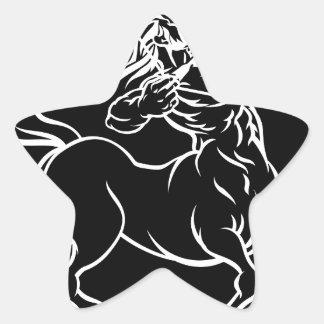 Horoscope Sagittarius Centaur Zodiac Sign Star Sticker