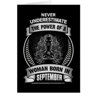 Horoscope September Card