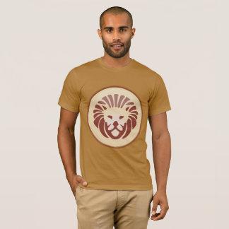 Horoscope Sign Leo Zodiac Lion Brown Shirt