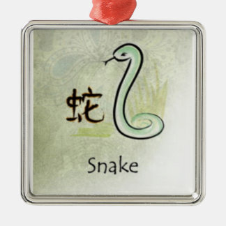 HOROSCOPE SNAKE METAL ORNAMENT