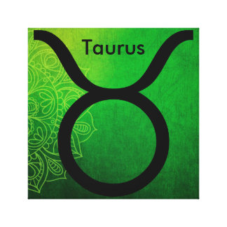 Horoscope Zodiac Astrology Sign Taurus Wall Art