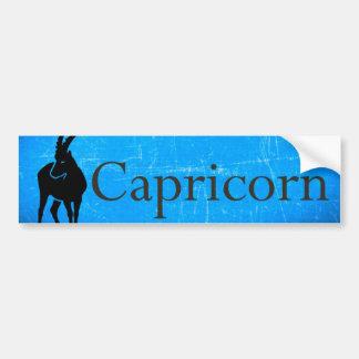 Horoscope Zodiac Capricorn Bumper Sticker