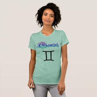 Horoscope Zodiac Sign Gemini Twins Shirt