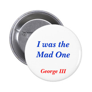 Horrible Histories Mad One 2 Inch Round Button