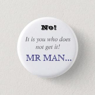 Horrible Histories Mr Man 1 Inch Round Button