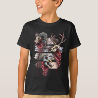 Horror Animal Curse Skeleton Skull Tshirts
