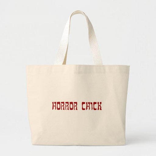 Horror Chick Canvas Bags