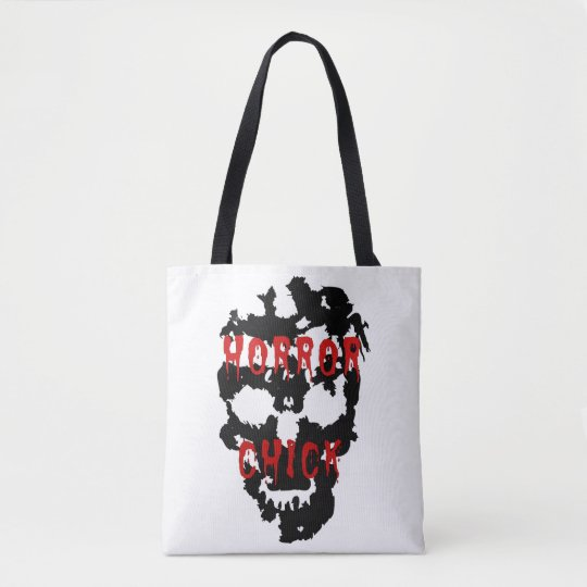 horror chick tote