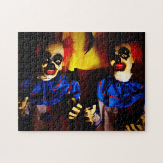 Horror Clowns Jigsaw Puzzle