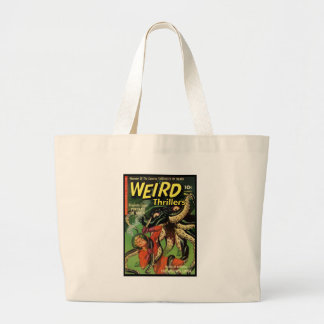 Horror Comic: Weird Thrillers 4 Tote Bag