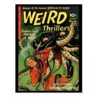 Horror Comic: Weird Thrillers 4 Postcard