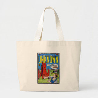 Horror Comics Into the Unknown 61 Canvas Bag