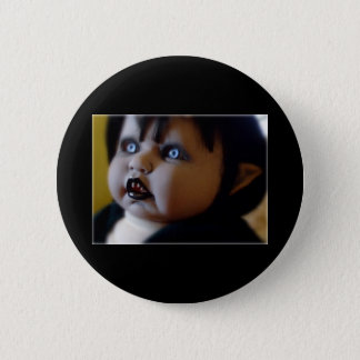 horror doll pin