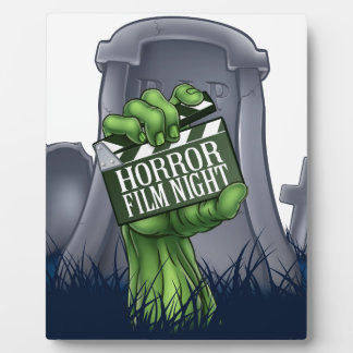 Horror Film Zombie or Monster Clapper Board Sign Plaque