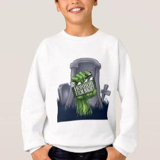 Horror Film Zombie or Monster Clapper Board Sign Sweatshirt