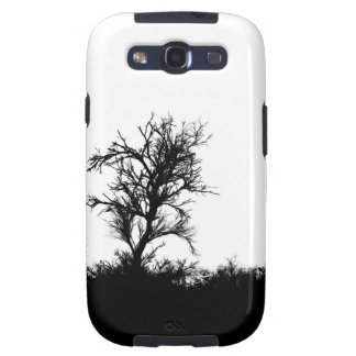 Horror Forrest. Scary Silhouette Samsung Galaxy SIII Cover
