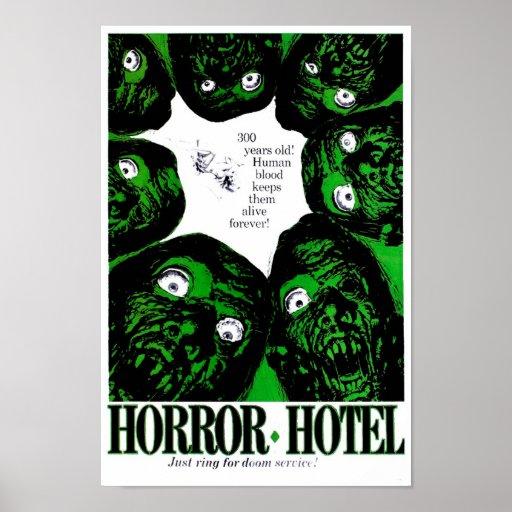 Horror Hotel Print