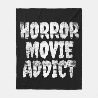 Horror Movie Addict Blanket