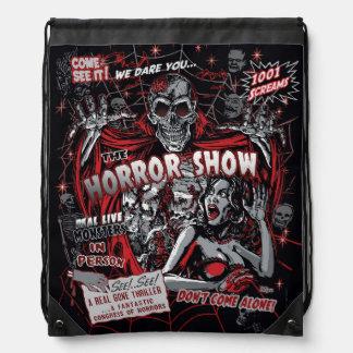 Horror movie Monsters show spookshow Drawstring Bag