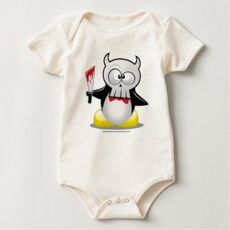 Horror Movie Penguin Baby Bodysuit