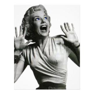 Horror Movie Screamer Letterhead