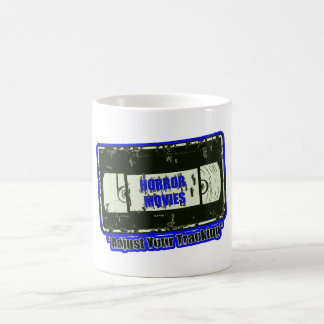 Horror Movies -Black & Blue Coffee Mug