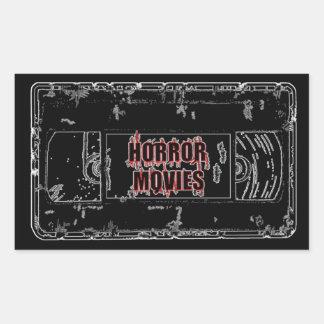 Horror Movies -Black Sticker