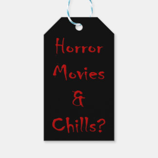 Horror Movies & Chills? Gift Tags