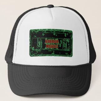 Horror Movies - Video Cassette Neon Green Trucker Hat